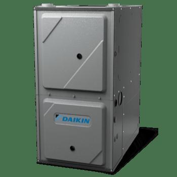 Daikin DC97MC gas furnace.