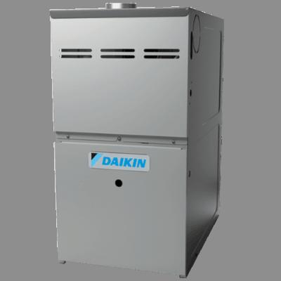 Daikin DM80HE gas furnace.