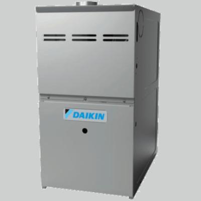 Daikin DM80HS gas furnace.
