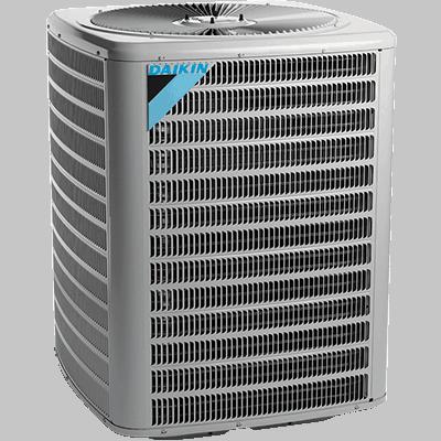 Daikin DZ14SN whole house heat pump.