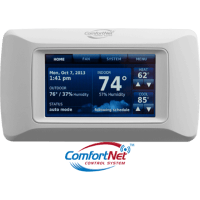 Daikin CTK04 thermostat.