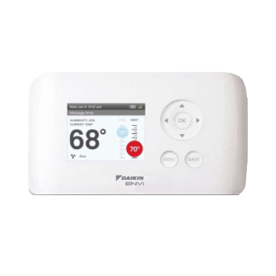 Daikin ENVi thermostat.